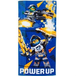 Lego Nexo Knights Power Up Beach Towel